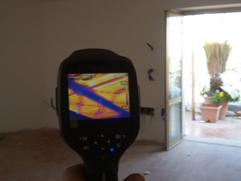 Impianto di riscaldamento radiante a soffitto a Napoli