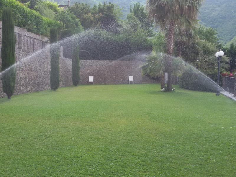 Impianto di irrigazione presso Hotel Villa al Rifugio