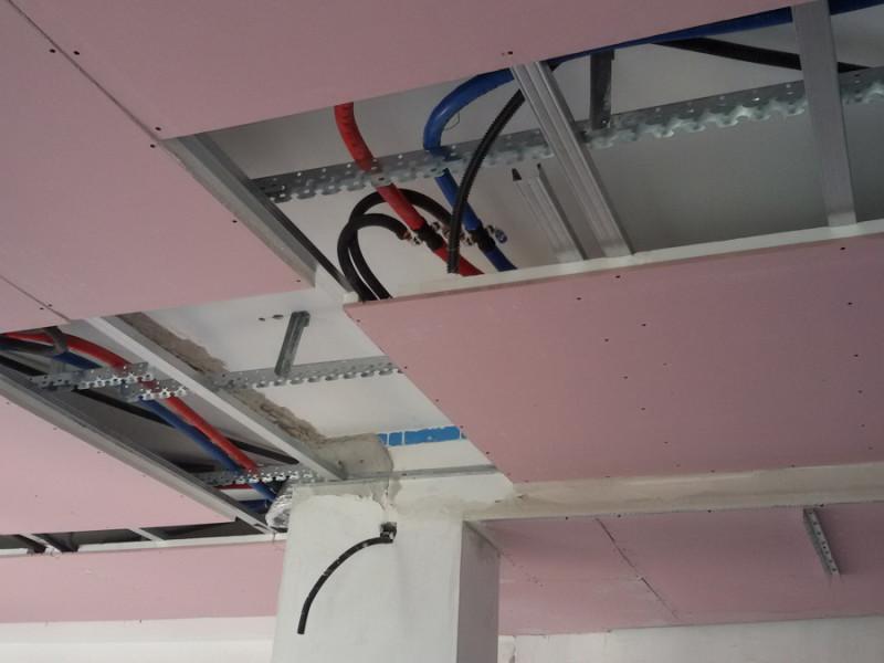 Impianto di riscaldamento e raffrescamento a soffitto – Pozzuoli