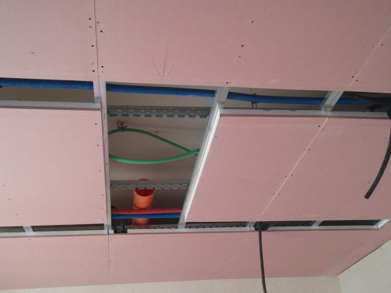 Impianto di riscaldamento radiante a soffitto Cava de' Tirreni