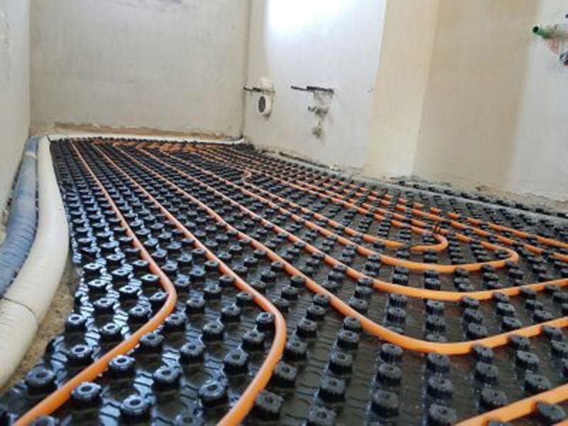 Impianto di riscaldamento radiante a Battipaglia