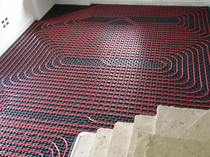 Impianto di riscaldamento radiante in appartamento Cava de' Tirreni – Salerno